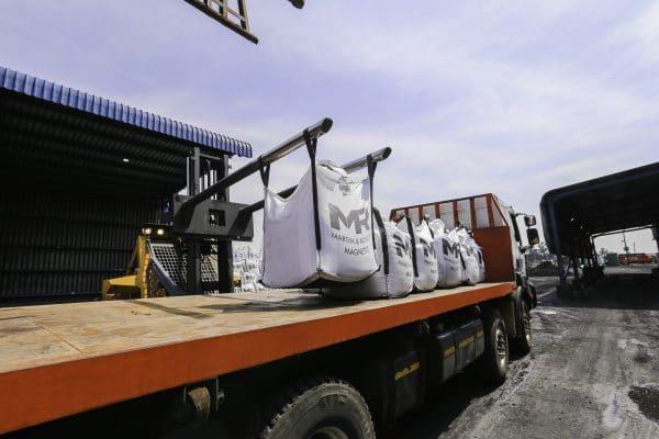 Martin and Robson magnetite logistics