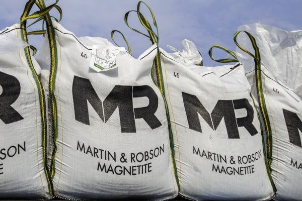 Martin & Robson magnetite delivery