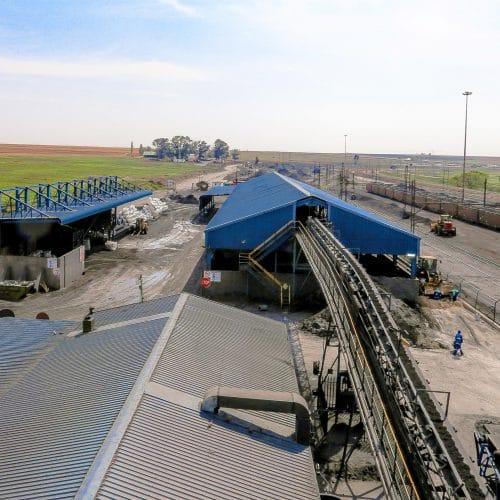 Magnetite refinery