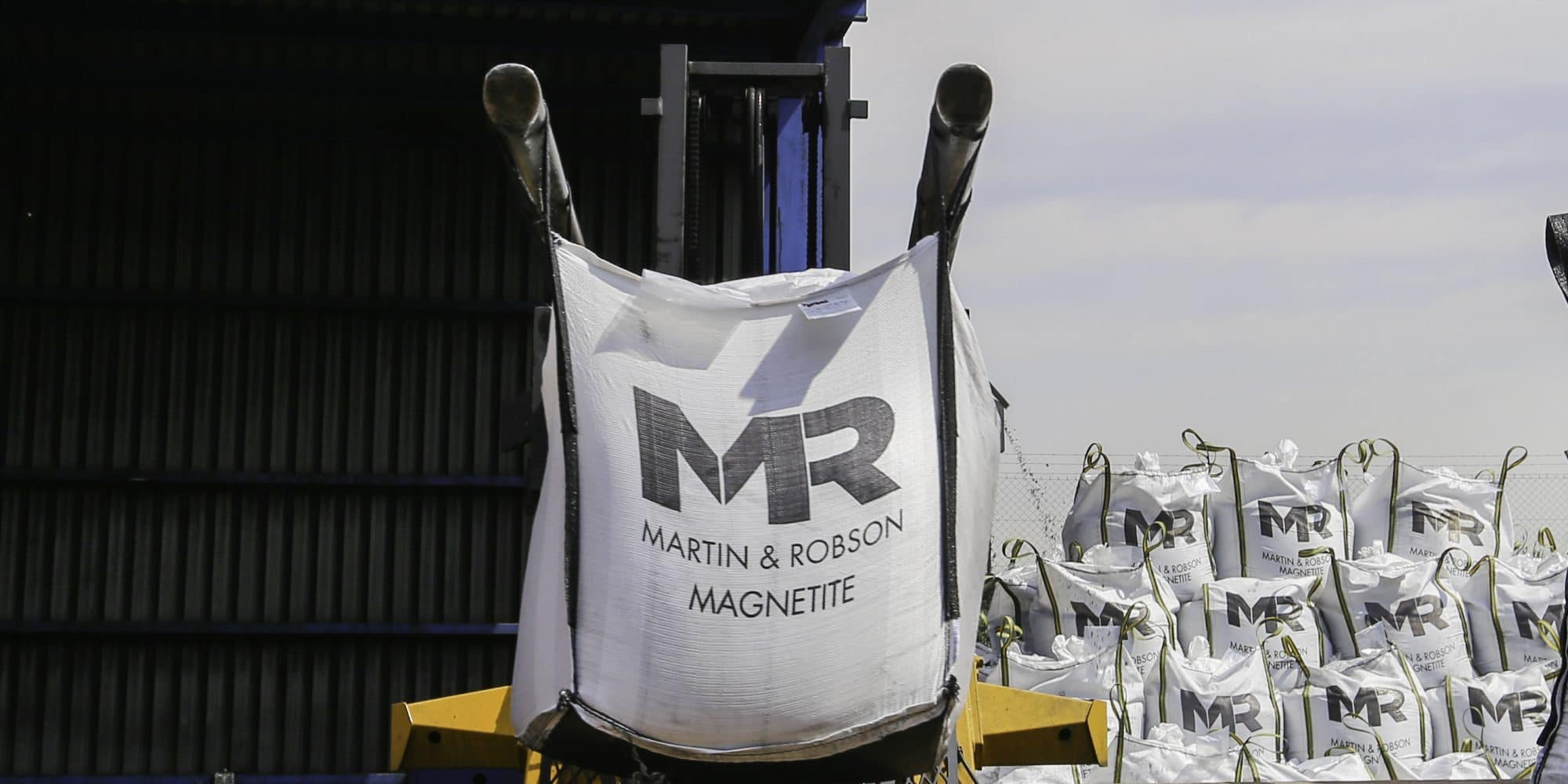 Magnetite delivery