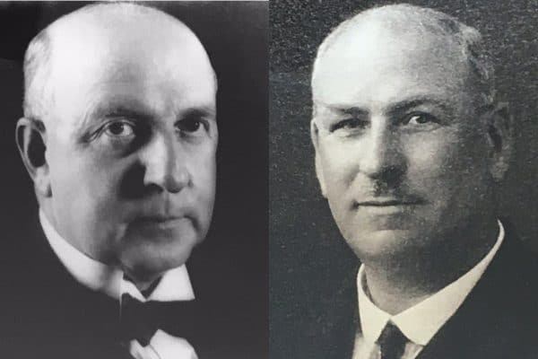 Frederick Claud Sturrock & Thomas William Robson