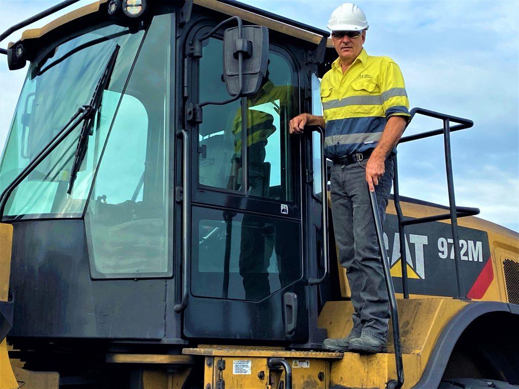 Peter Helsham, Facility Supervisor at Martin and Robson Australia in Mackay